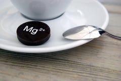 Magnesium +2 Stockbild
