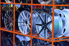 Magnesium alloy wheel Royalty Free Stock Image