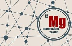 Magnesium chemical element. Stock Photos