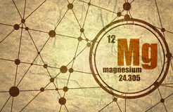 Magnesium chemical element. Stock Image