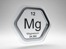 Magnesium element symbol Stock Photography