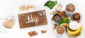 Free Magnesium Rich Foods Royalty Free Stock Photos - 124521858