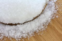 Magnesium sulfate (Epsom salts) Royalty Free Stock Photo