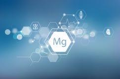 magnesium Wetenschappelijk Onderzoek stock fotografie