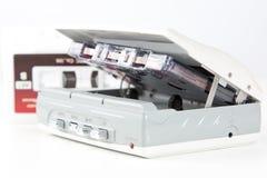 Magnetófono audio con la cinta Fotos de archivo libres de regalías
