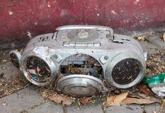 Magnetófono viejo Imagen de archivo