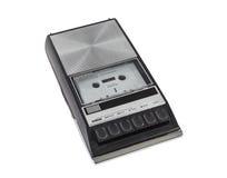 Magnetófono y registrador portátiles de casete del vintage Imágenes de archivo libres de regalías