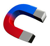 Magnet. On a white background Royalty Free Stock Photos
