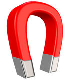 Magnet 3D rendering Royalty Free Stock Photography