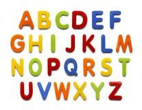 Magnet-Alphabet Lizenzfreies Stockfoto