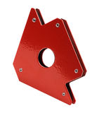 Magnet angle holder for welding Royalty Free Stock Photography