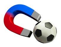 Magnet football Stock Photos