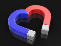 Magnet heart (clipping path included) Royalty Free Stock Photo