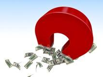 Magnet for money Stock Photo