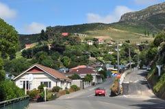 magnet New Zealand för fjärdchristchurch lyttleton Arkivbilder