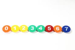 Magnet numbers Stock Images
