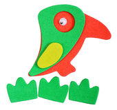 Magnet parrot Royalty Free Stock Image