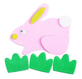 Magnet rabbit Royalty Free Stock Images