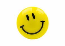 Magnet smiley Stock Image