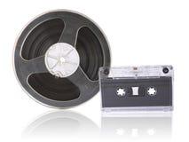 Magnetbänder stockbild