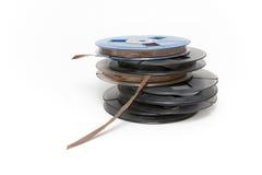Magnetbänder für Tonaufzeichnunge Lizenzfreies Stockfoto