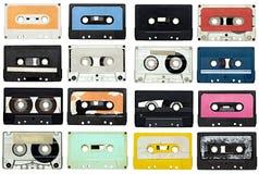 Magnetband für Tonaufzeichnungen Stockfotos