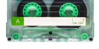 Magnetband- für Tonaufzeichnungenkassette Stockfotos