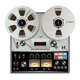 Magnetband- für Tonaufzeichnungenrecorder Lizenzfreie Stockfotos