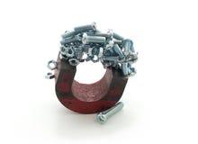 Magnete immagine stock