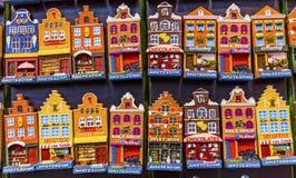Magnete ceramico Sovenirs Amsterdam Holland Netherlands della Camera immagine stock libera da diritti
