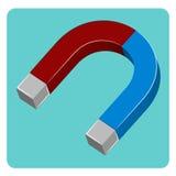 Magnete dell'icona Fotografie Stock