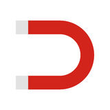 Magnete piano dell'icona Fotografia Stock Libera da Diritti