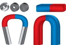 magneter stock illustrationer