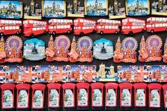Magneti del frigorifero di Londra Fotografia Stock