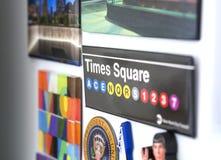 Magneti del frigorifero di U.S.A. Immagine Stock