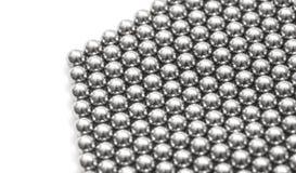 Magnetic ball bearing tiling Royalty Free Stock Image
