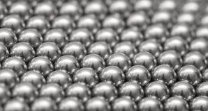 Magnetic ball bearing tiling Royalty Free Stock Photo