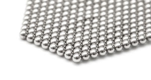 Magnetic ball bearing tiling Stock Photography