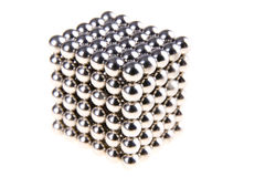 Magnetic beads Stock Image