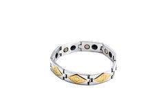 Magnetic bracelet Stock Images