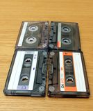 Magnetic cassette Royalty Free Stock Photography