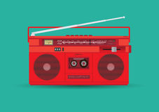 Magnetic cassette player Royalty Free Stock Image