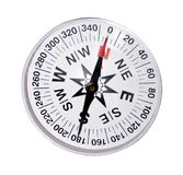 Magnetic compass stock image