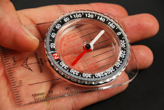 Magnetic compass Royalty Free Stock Image