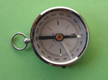 Magnetic compass tool Stock Photography