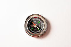 Magnetic compass. Royalty Free Stock Images
