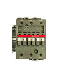 Magnetic contactor Stock Images