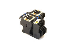 Magnetic contactor Royalty Free Stock Photo