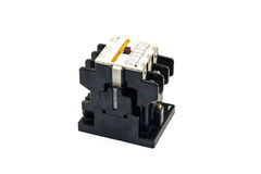 Magnetic Contactors Royalty Free Stock Photos