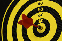 Magnetic dart Stock Photography